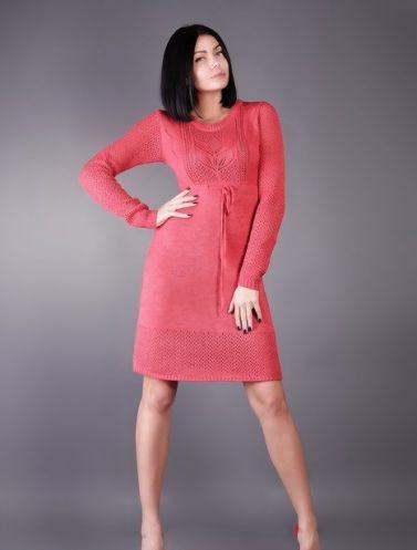 Купить Вязаное платье Coral в Алматы, Казахстан.