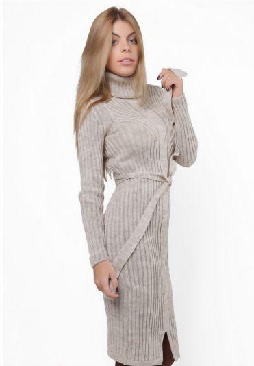 Купить Вязаное платье Midi в Алматы, Казахстан.